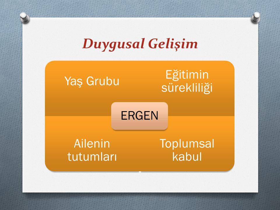 Sonuç olarak ERGENLİK… O Sosyal-duygusal Sistem in kolaylıkla uyarıldıg ̆ ı ve sosyal geri bildirimlere duyarlı bir do ̈ nemdir.