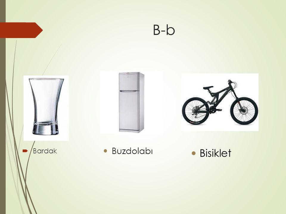B-b  Bardak Buzdolabı Bisiklet