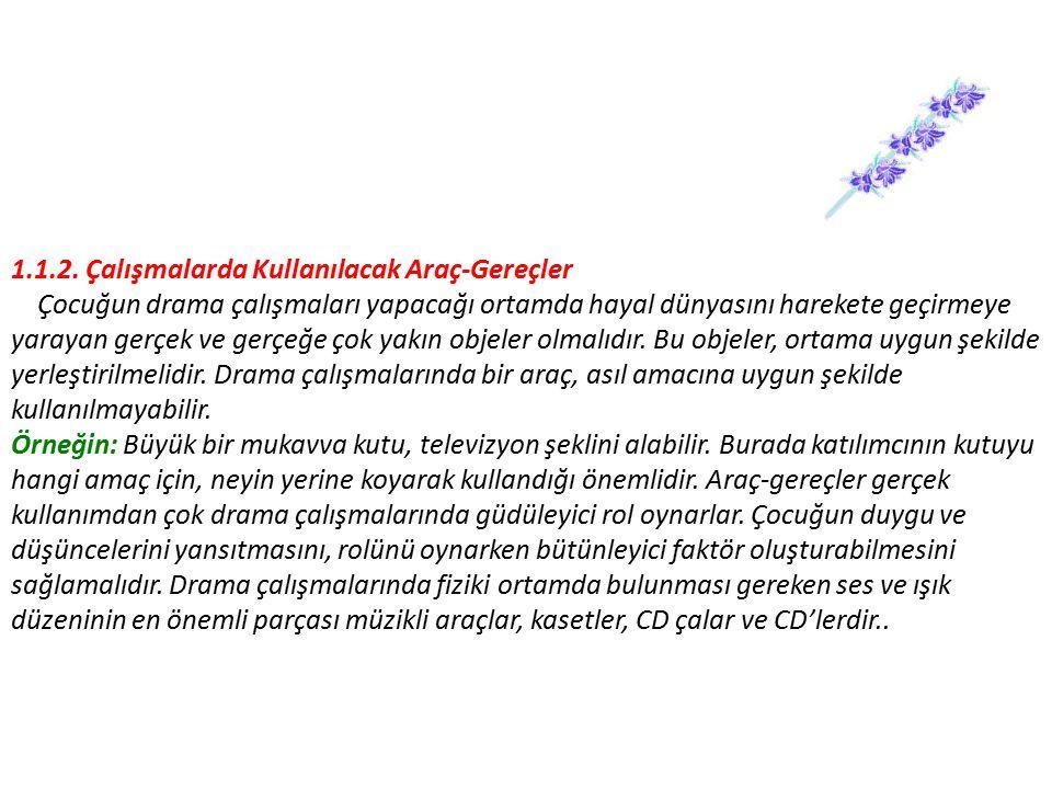 2.DRAMA LİDERİNİN ROLÜ 2.1.
