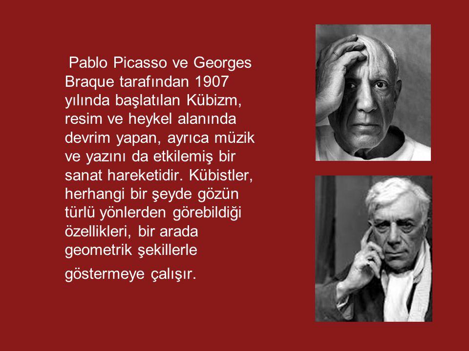 Pablo Picasso ve Georges Braque tarafından 1907 yılında başlatılan Kübizm, resim ve heykel alanında devrim yapan, ayrıca müzik ve yazını da etkilemiş