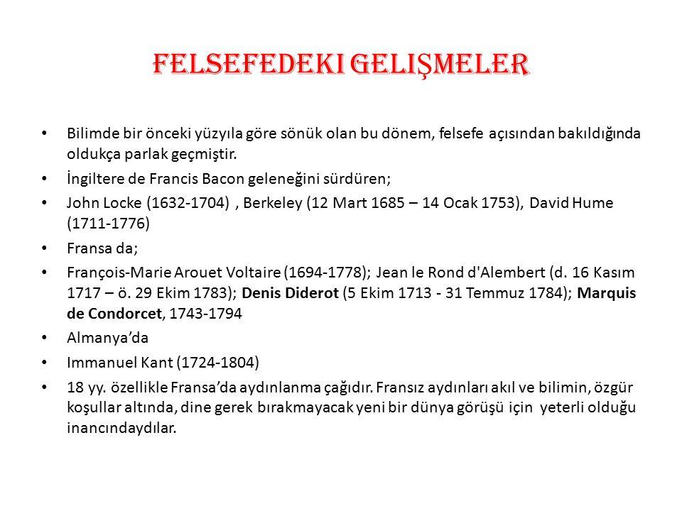 AyDINLAMA ÇA Ğ I F İ LOZOFLARI Aydınlanma çağı filozoflarının bilimsel kültüre en büyük katkıları 1751-1765 yılları arasında yayımladıkları 21 ciltlik ANSİKLOPEDİ olmuştur.