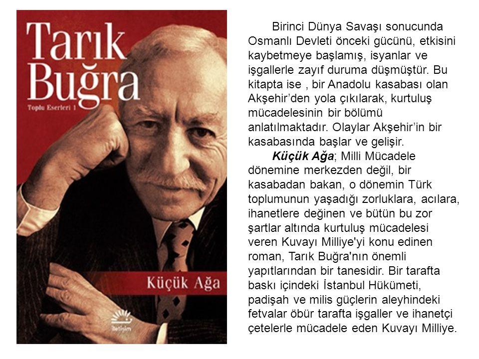 Birinci Dünya Savaşı sonucunda Osmanlı Devleti önceki gücünü, etkisini kaybetmeye başlamış, isyanlar ve işgallerle zayıf duruma düşmüştür. Bu kitapta