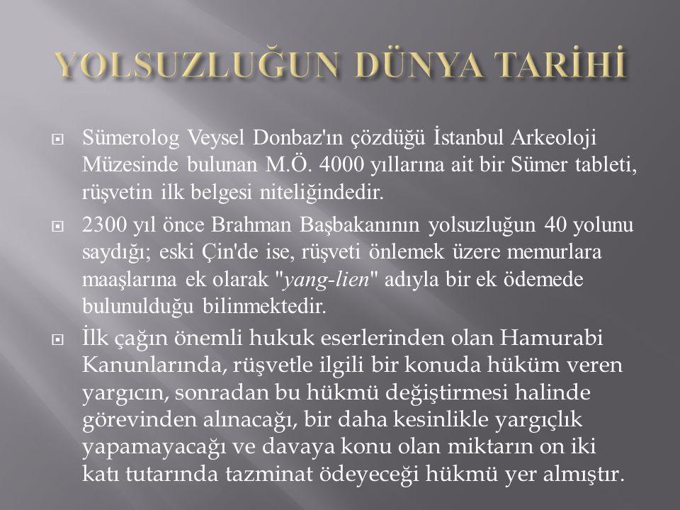  Sümerolog Veysel Donbaz ın çözdüğü İstanbul Arkeoloji Müzesinde bulunan M.Ö.