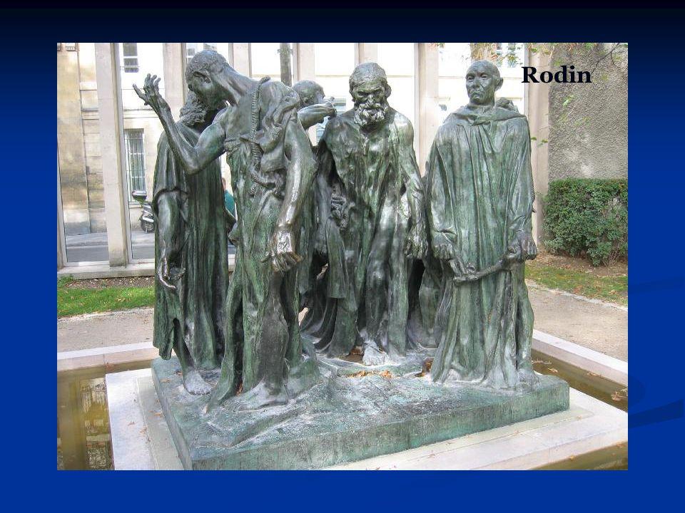 Rodin Yontu bir pozdan diğerine geçişi gösterir.
