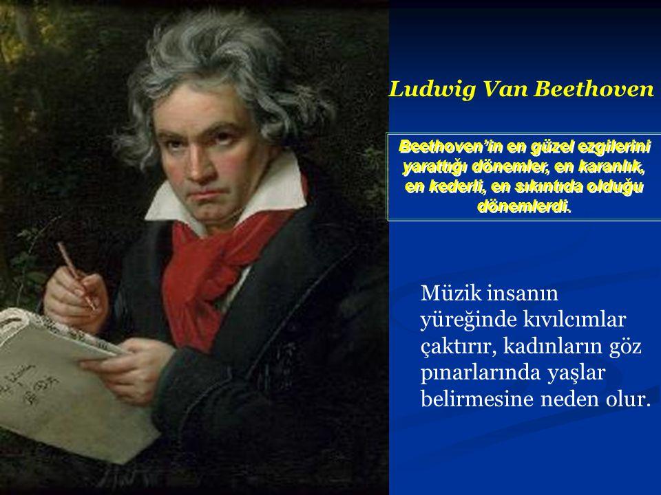 Johann Straus Müzik sanatlar içinde en zarifidir, çünkü sol beynin mantıksallığını sollayıp geçmiştir.