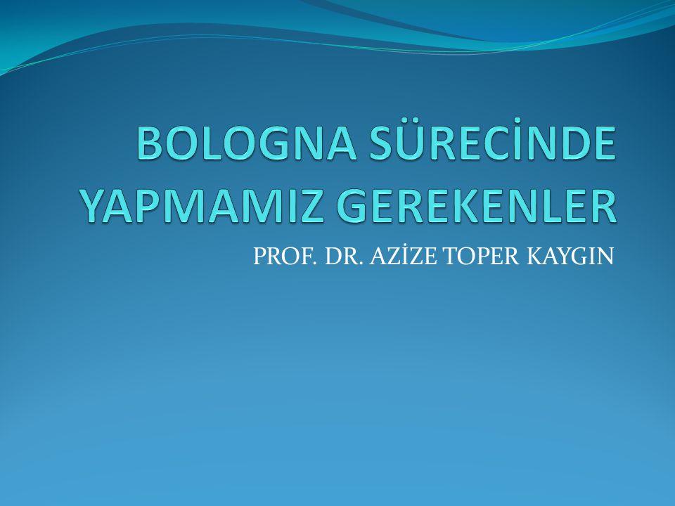 PROF. DR. AZİZE TOPER KAYGIN