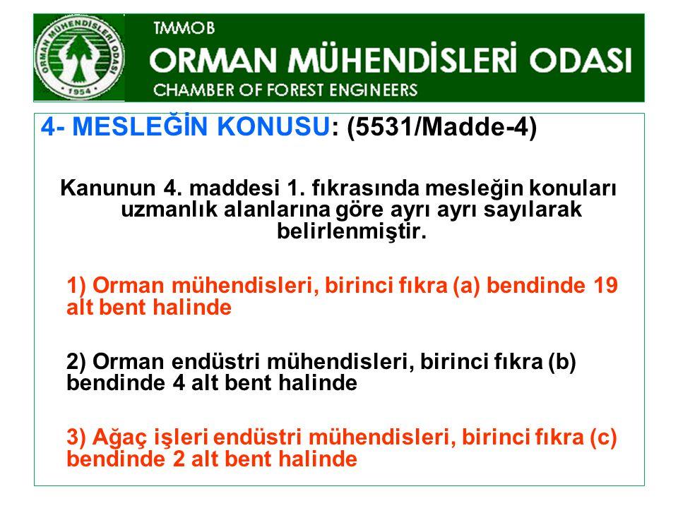 5531 SAYILI MESLEK YETKİ KANUNU (K.Tarih:29/6/2006, Res.Gaz.Tar:8/7/2006) 6- MESLEK MENSUBU OLMANIN ŞARTLARI VE SINAV: (5531/Madde-6) A) GENEL ŞARTLAR: 1) Türkiye Cumhuriyeti vatandaşı olmak.