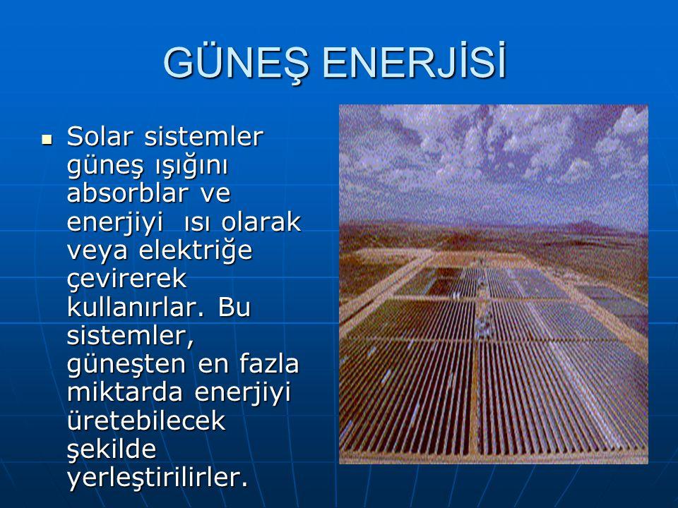 YENİLENEBİLİR ENERJİ KAYNAKLARI Güneş Enerjisi Güneş Enerjisi Rüzgâr Enerjisi Rüzgâr Enerjisi Biomas Enerjisi Biomas Enerjisi Jeotermel Enerji Jeoterm