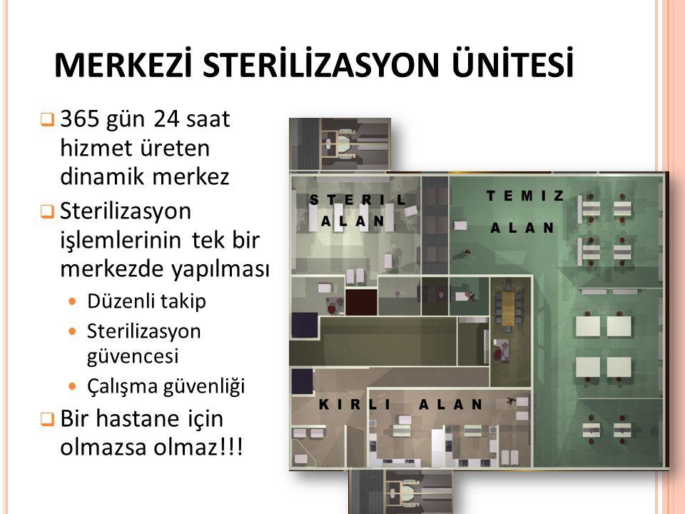 Merkezi sterilizasyon ünitesi