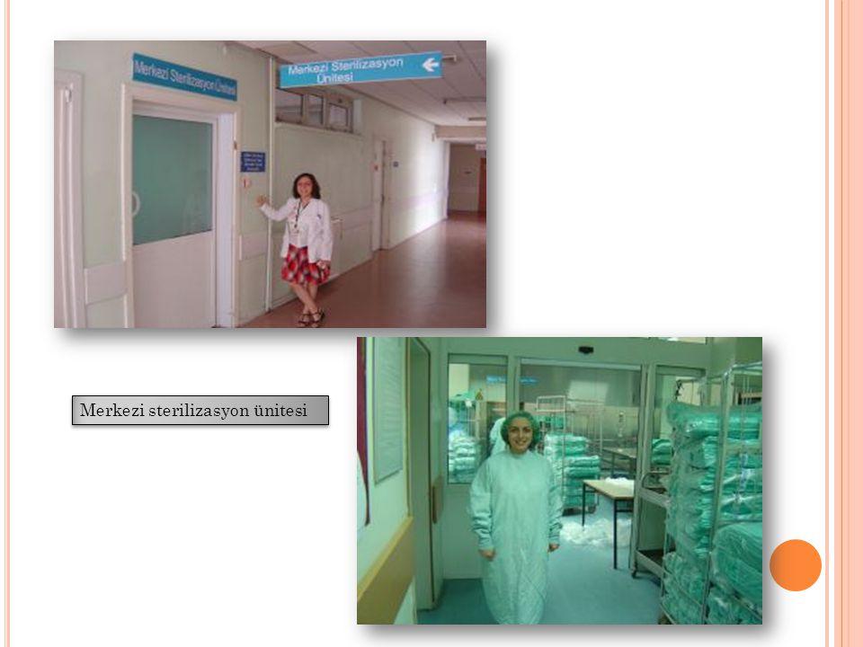 STERİLİZASYONUN KONTROLÜ Maruziyet kontrolü Etiket kartları Otoklav bantları Cihazın kontrolü Bowie-Dick testi Yük kontrolü Biyolojik indikatörler Kimyasal indikatörler Bohça içi kontrol Kimyasal indikatörler Kayıt sistemi