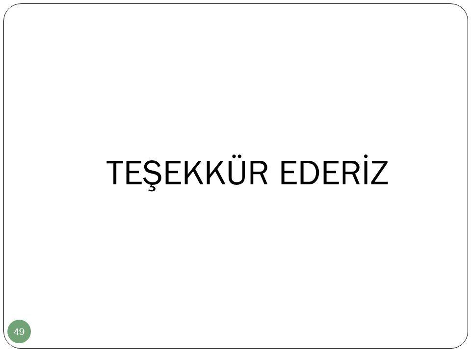 TEŞEKKÜR EDERİZ 49