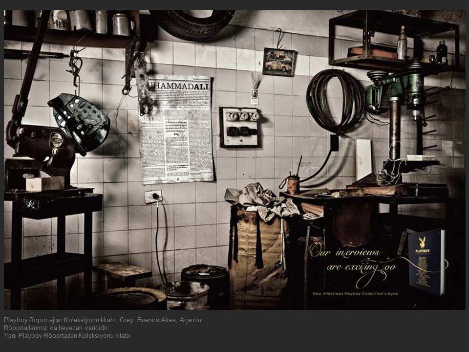 Playboy Röportajları Koleksiyonu kitabı, Grey, Buenos Aires, Arjantin Röportajlarımız da heyecan vericidir. Yeni Playboy Röportajları Koleksiyonu kita