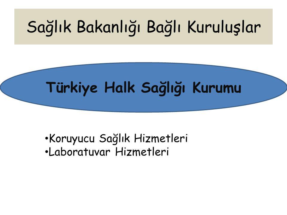 Türkiye Halk Sağlığı Kurumu Koruyucu Sağlık Hizmetleri Laboratuvar Hizmetleri
