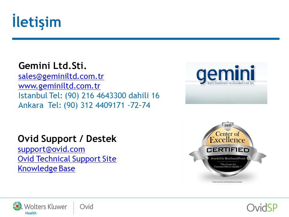 İletişim Gemini Ltd.Sti.
