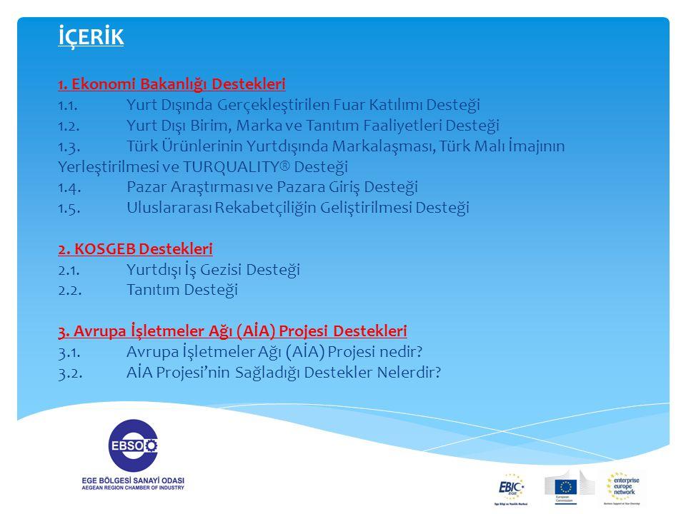 1.Avrupa İşletmeler Ağı Projesi Nedir .