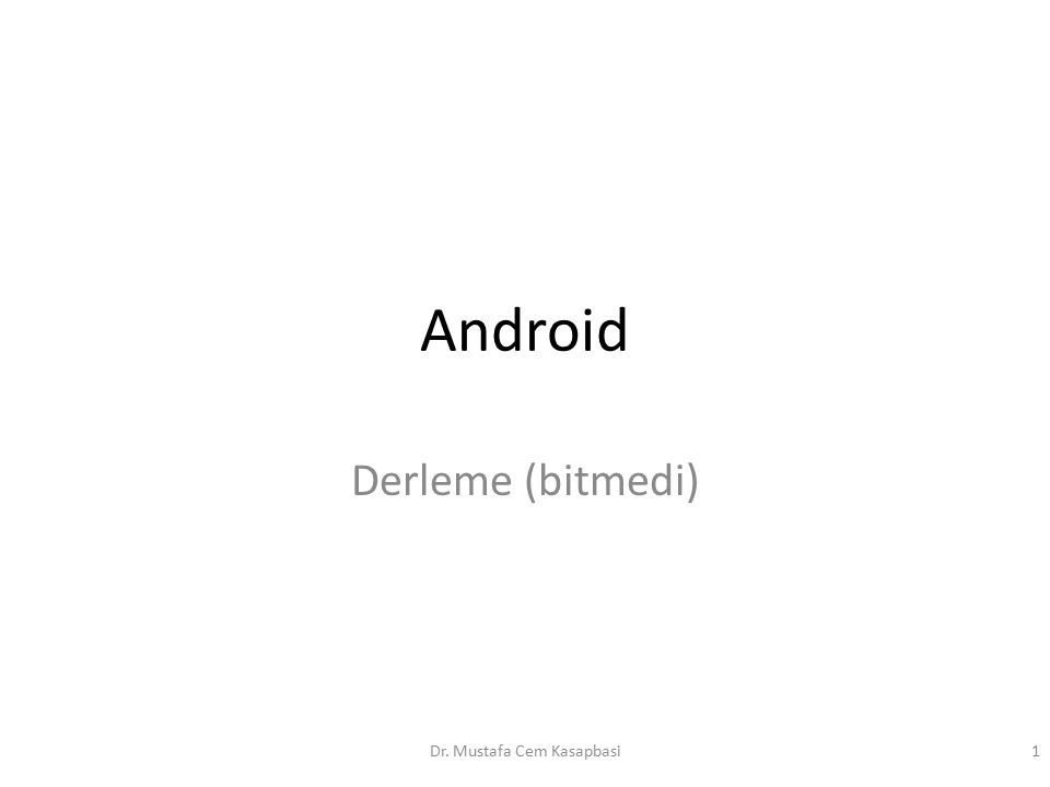 What is Android.