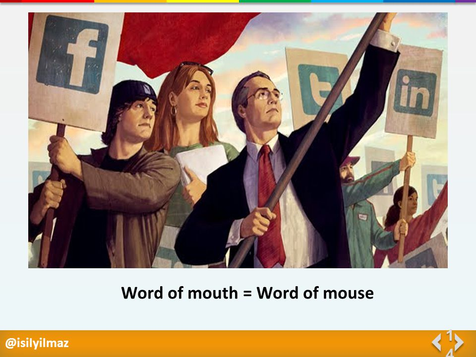 @isilyilmaz 1414 Word of mouth = Word of mouse