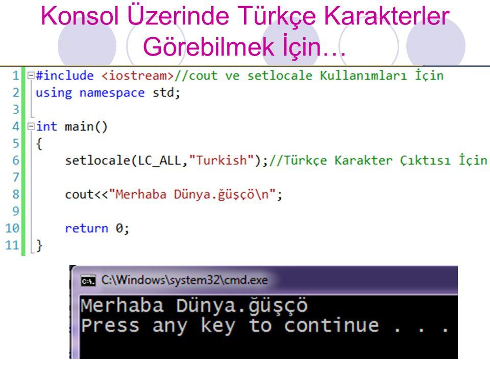 for Döngüsü //for Döngüsü ile Sayaç Kontrollü Tekrar //İlk Değer Atama, Tekrarlama Şartı ve Artım Miktarı for //Yapısının İçinde #include using namespace std; int main() { for(int sayac=1;sayac<=10;sayac++) cout<<sayac<<endl; return 0; }