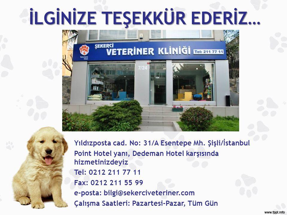 Yıldızposta cad. No: 31/A Esentepe Mh. Şişli/İstanbul Point Hotel yanı, Dedeman Hotel karşısında hizmetinizdeyiz Tel: 0212 211 77 11 Fax: 0212 211 55