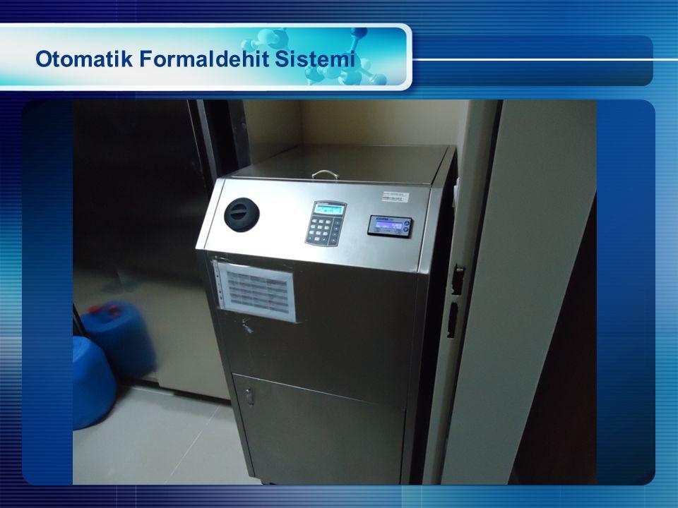 Otomatik Formaldehit Sistemi
