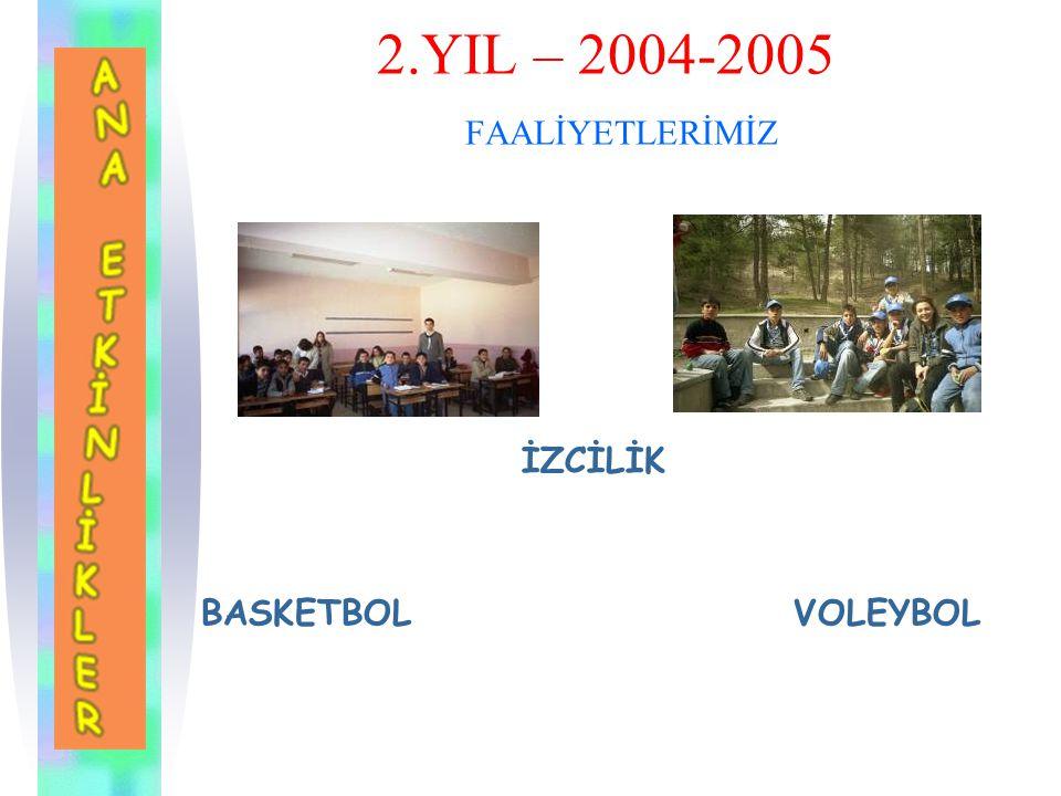 2.YIL – 2004-2005 FAALİYETLERİMİZ SERAMİK SATRANÇ DOĞA EĞİTİMİ