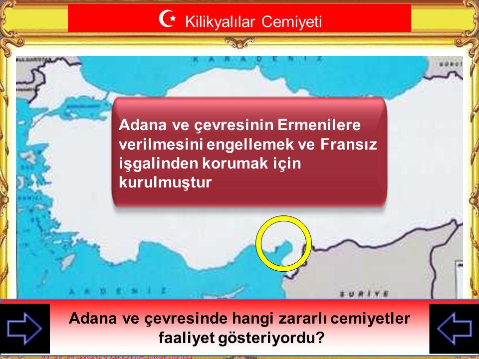  Trabzon Muhafaza-i Hukuk Cemiyeti Trabzon ve çevresinde hangi zararlı cemiyetler faaliyet gösteriyordu? Merkezi Trabzon olmak üzere Trabzon ve çevre