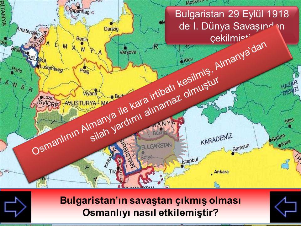 Suriye cephesinde düşmana teslim olan bazı askerlerimiz Savaşın sonlarına doğru Osmanlının durumu hakkında neler söylersiniz?