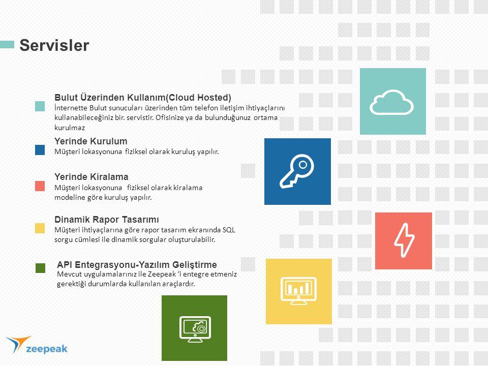 Servisler Bulut Üzerinden Kullanım(Cloud Hosted) İnternette Bulut sunucuları üzerinden tüm telefon iletişim ihtiyaçlarını kullanabileceğiniz bir. serv