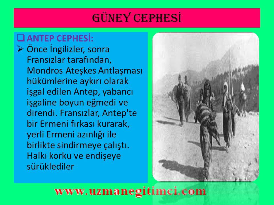GÜNEY CEPHES İ  I.Kavaklıhan, Aflak, II.