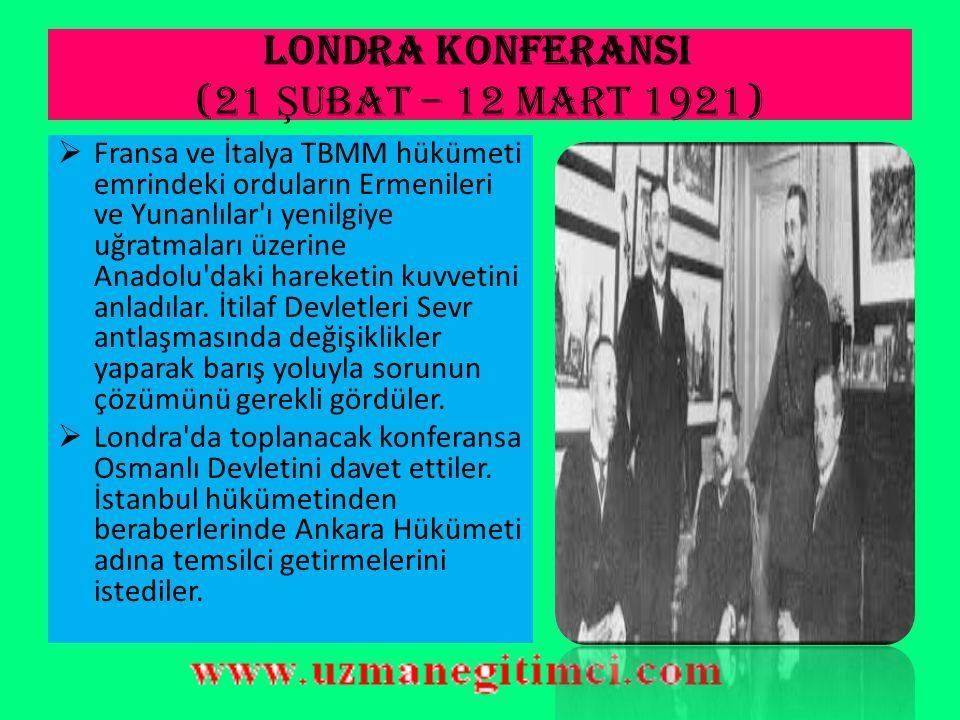 1921 anayasa'sInIN ÖZELL İ KLER İ 3.Meclis Hükümeti sistemi anlayışı getirilmiştir.