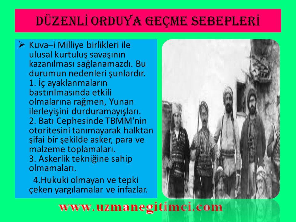 GÜNEY CEPHES İ  Not 3: Antalya ve yöresini işgal eden İtalyanlara karşı bir cephe kurulmamıştır.