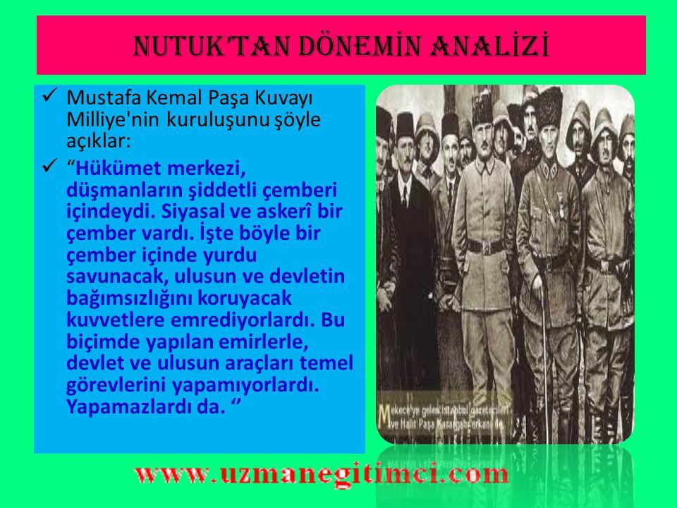 DÜZENL İ ORDUYA GEÇME SEBEPLER İ  Kuva–i Milliye güçleri kongrelerin yapılmasına ve I.TBMM nin kurulmasına katkıda bulunmuştu.