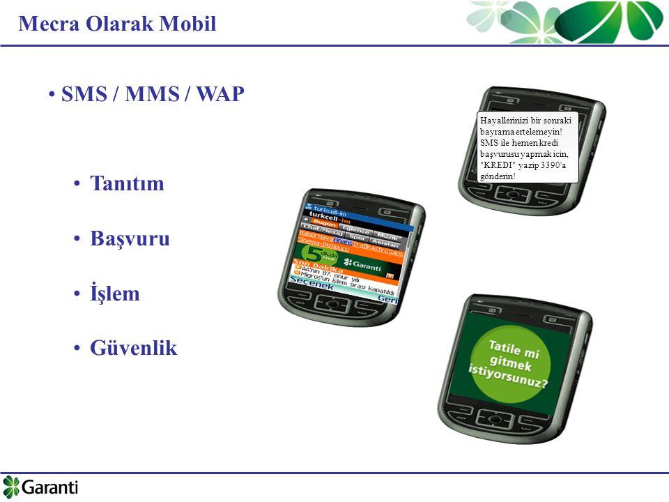 Mecra Olarak Mobil SMS / MMS / WAP Tanıtım Başvuru İşlem Güvenlik Hayallerinizi bir sonraki bayrama ertelemeyin! SMS ile hemen kredi başvurusu yapmak