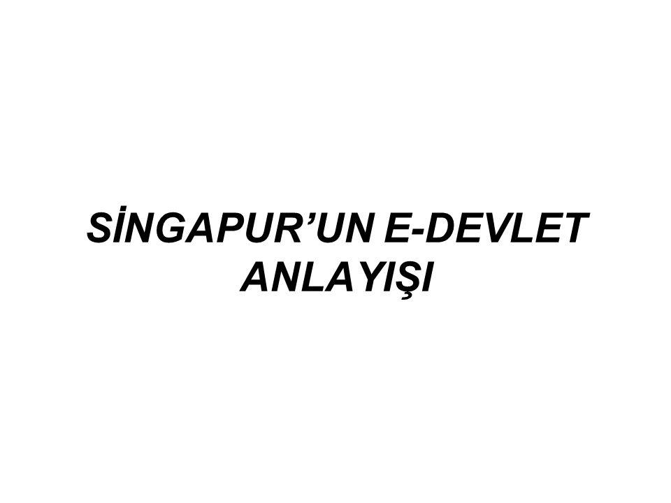 SİNGAPUR'UN E-DEVLET ANLAYIŞI