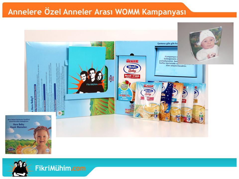 Annelere Özel Anneler Arası WOMM Kampanyası