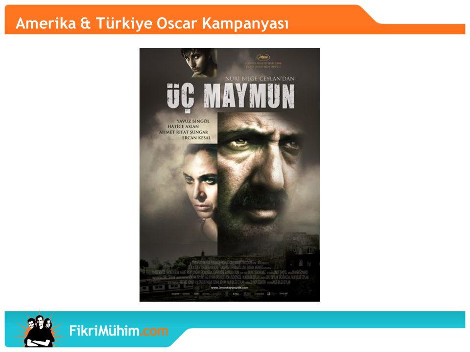 Amerika & Türkiye Oscar Kampanyası