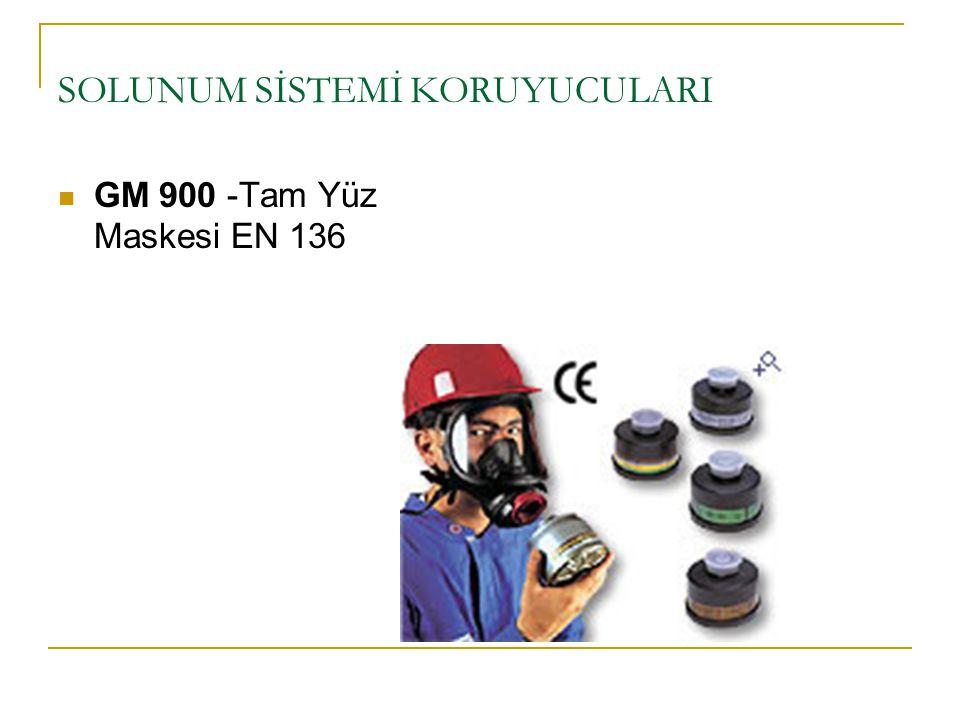 SOLUNUM SİSTEMİ KORUYUCULARI GM 900 -Tam Yüz Maskesi EN 136