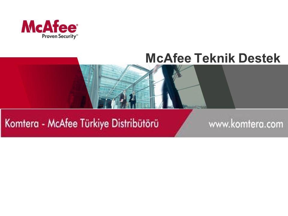 McAfee Teknik Destek