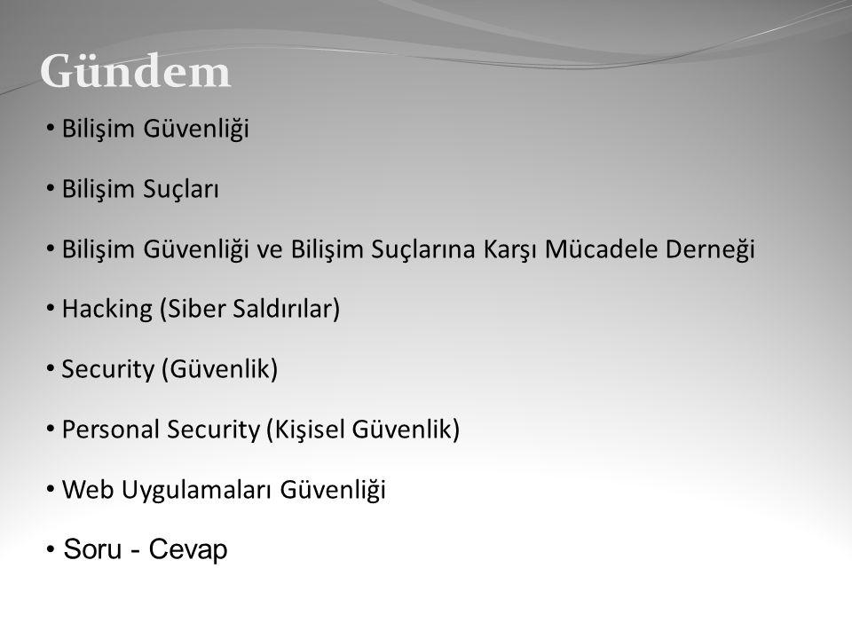 Bağlantılar Bilişim Güvenliği Derneği (bg.org.tr) Onur YILMAZ (onuryilmaz.info)