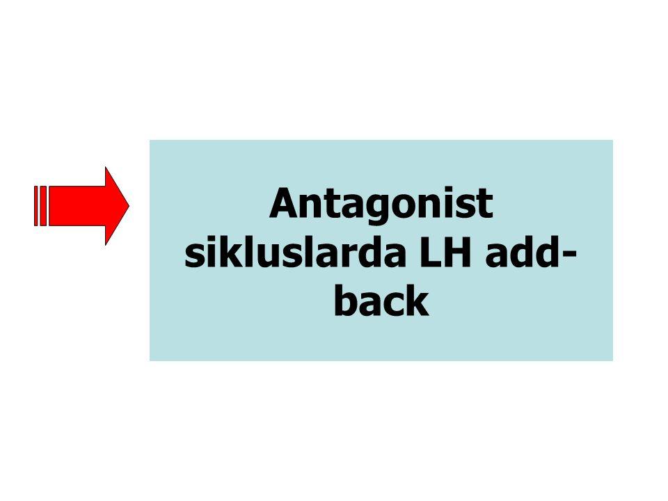 Antagonist sikluslarda LH add- back