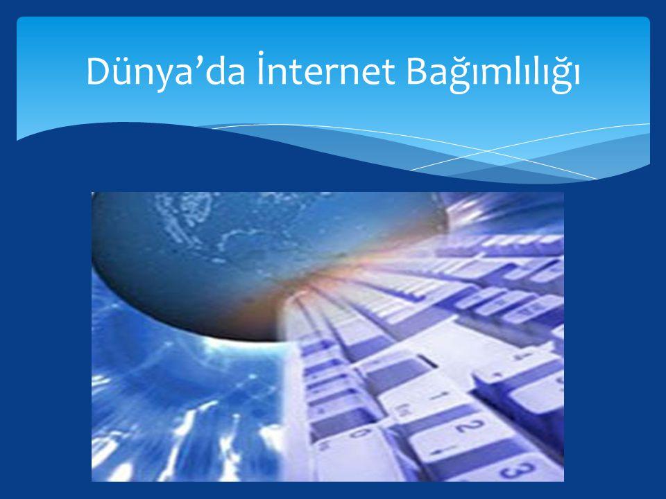 Dünya'da İnternet Bağımlılığı