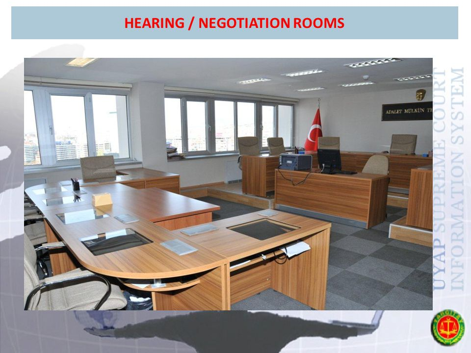HEARING / NEGOTIATION ROOMS