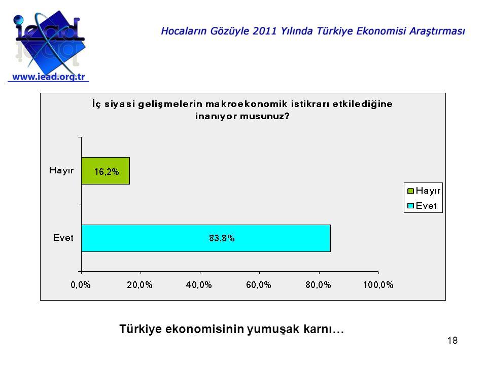 18 Türkiye ekonomisinin yumuşak karnı…