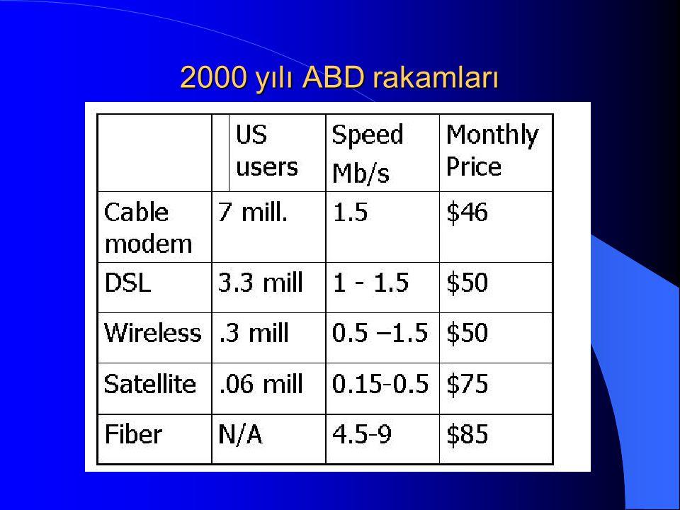 2000 yılı ABD rakamları