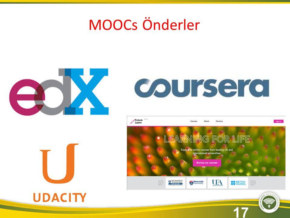 MOOCs Önderler 17