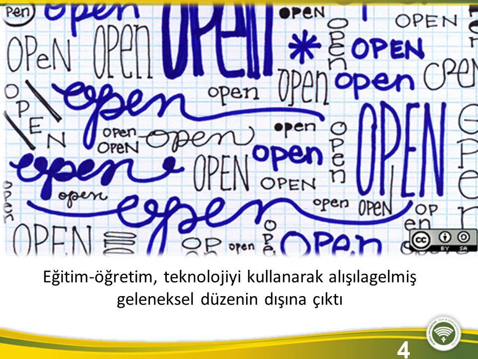 İstanbul Üniversitesi Açık ve Uzaktan Eğitim Fakültesi İlk 500 üniversitenin durumu Dünya nereye gidiyor 4 Eğitim-öğretim, teknolojiyi kullanarak alışılagelmiş geleneksel düzenin dışına çıktı