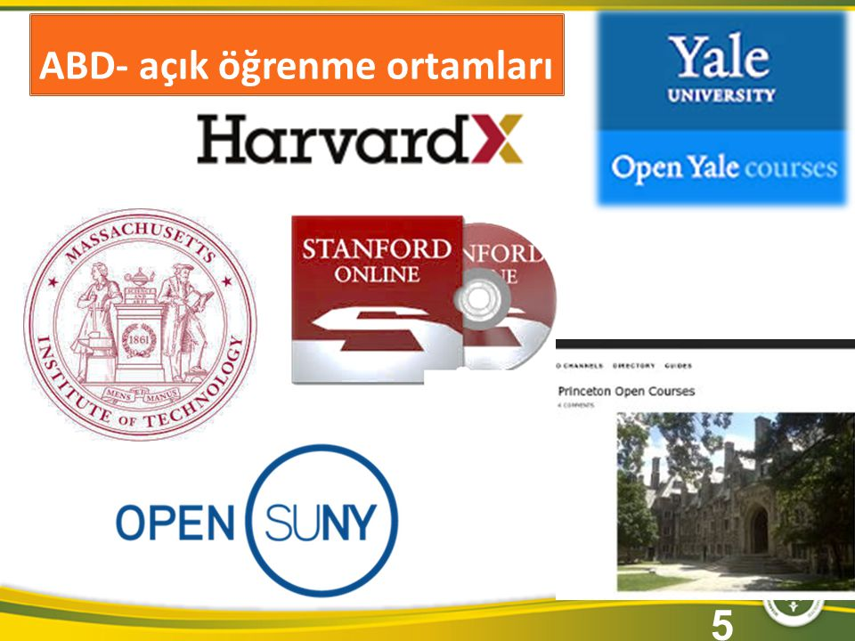ABD- açık öğrenme ortamları 5