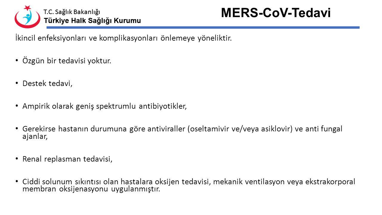 T.C. Sağlık Bakanlığı Türkiye Halk Sağlığı Kurumu T.C. Sağlık Bakanlığı Türkiye Halk Sağlığı Kurumu MERS-CoV Laboratuvar-Tanısı Moleküler Tanı: PCR, v