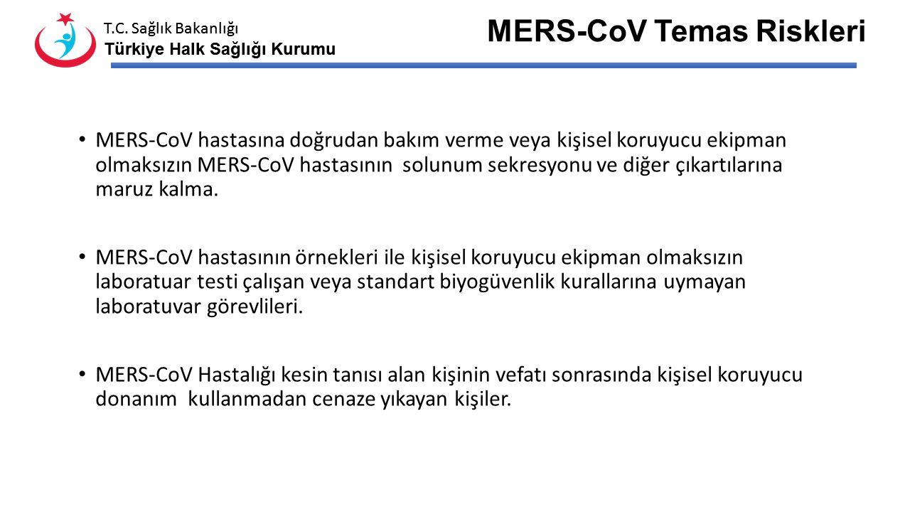 T.C. Sağlık Bakanlığı Türkiye Halk Sağlığı Kurumu T.C. Sağlık Bakanlığı Türkiye Halk Sağlığı Kurumu Kimlerde Düşünülmeli Epidemiyolojik Risk Faktörler