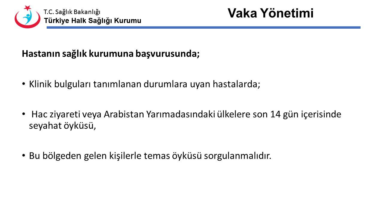 T.C. Sağlık Bakanlığı Türkiye Halk Sağlığı Kurumu T.C. Sağlık Bakanlığı Türkiye Halk Sağlığı Kurumu AH tarafından bu kişilerin aranması ve hastalık ha